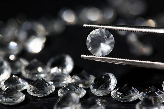Dispersion de diamants