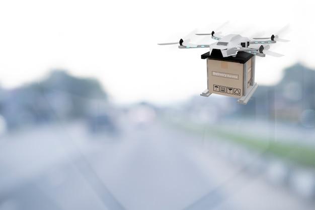 Dispositif d'ingénierie de la technologie des drones pour le vol industriel