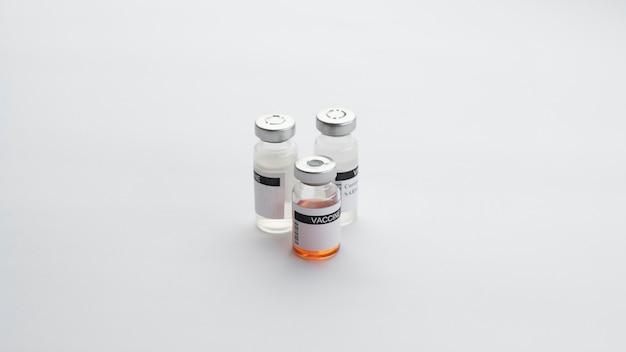 Disposition des éléments de vaccination pour covid19
