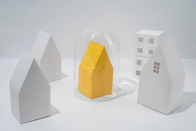 Disposition d'isolation de style papier