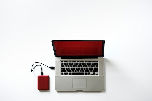 Disque dur externe se connecter à un ordinateur portable