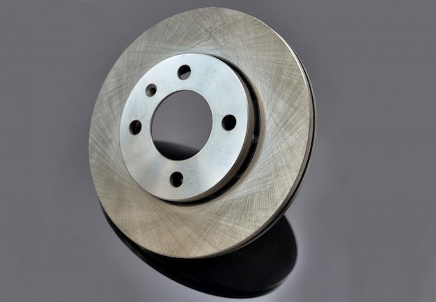 Disque de frein sur gris