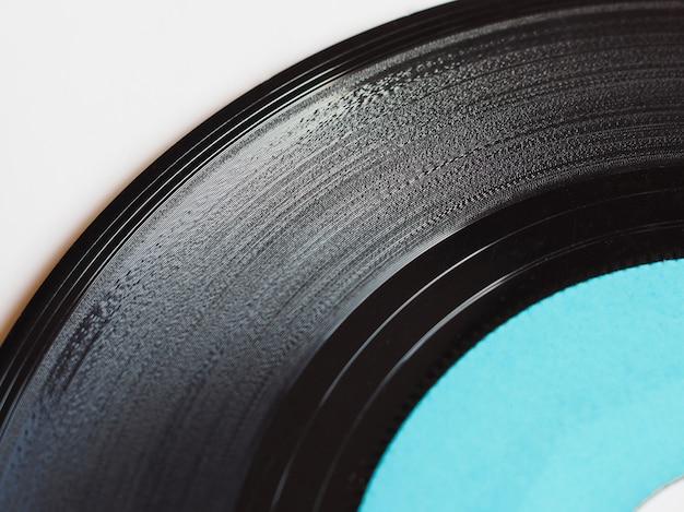 Disque vinyle isolé