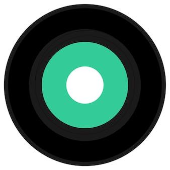 Disque vinyle unique