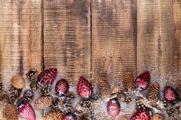 Diverses décorations festives pour noël