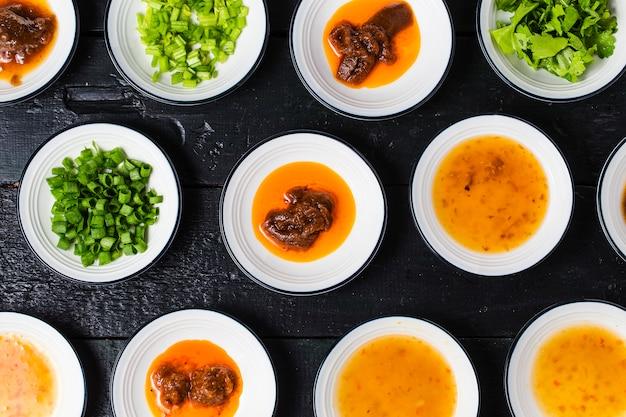 Diverses sauces