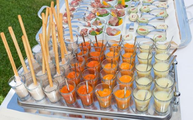 Diverses spécialités italiennes