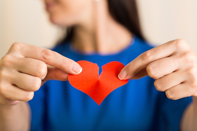 Divorce rompre séparation trahison briser coeur brisé