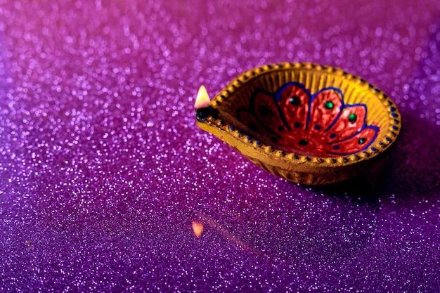 Diwali festival indien, lampe diwali