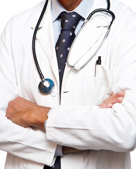 Docteur debout
