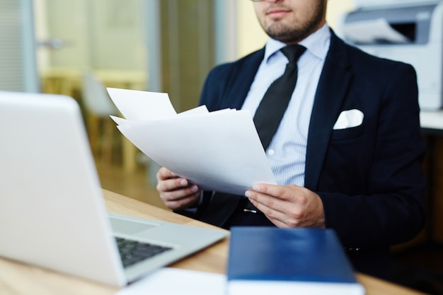 Documents financiers