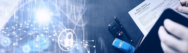 Documents pour l'assurance automobile. police d'assurance automobile. police d'assurance automobile. formulaires pour l'enregistrement d'un contrat d'assurance.