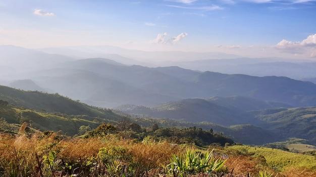 Doi chang mub, la frontière entre la thaïlande et le myanmar.