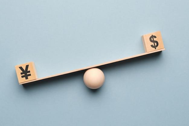 Le dollar l'emporte sur le yen sur la balance.