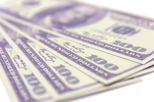 Dollar isoler sur blanc