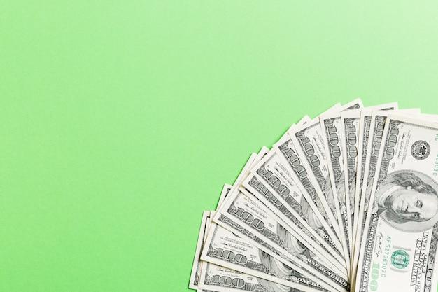 Dollars américains: fan incontrôlé de divers billets en dollars américains