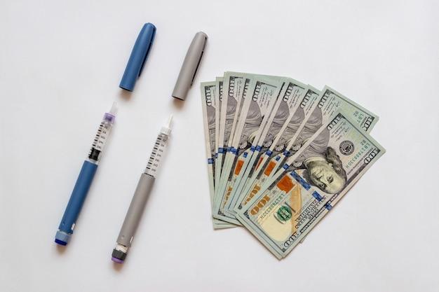 Des dollars pour acheter de l'insuline insuline pour les diabétiques