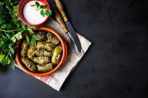 Dolma - plat géorgien traditionnel