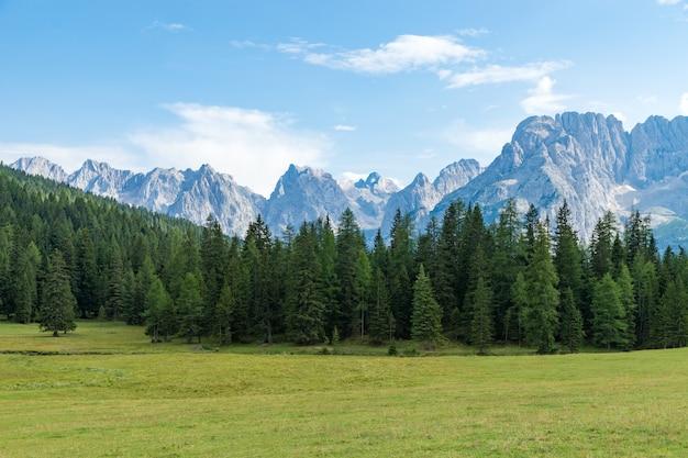 Dolomites de la montagne auronzo, italie
