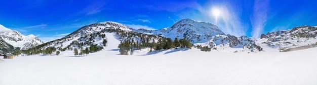 Domaine des stations de ski ordino arcalis en andorre