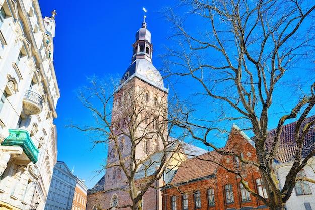 Dôme cathédrale riga dôme église luthérienne médiévale rigalettonie