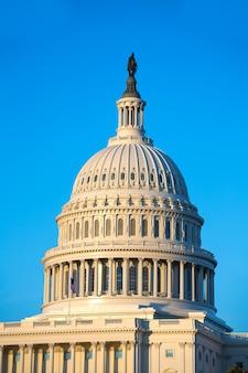 Dôme du bâtiment du capitole washington dc congrès américain