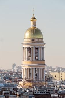 Dôme de l'église chrétienne en russie