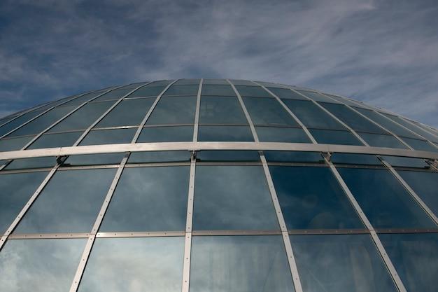 Dôme réfléchissant en verre et aluminium, le pearl, reykjavik