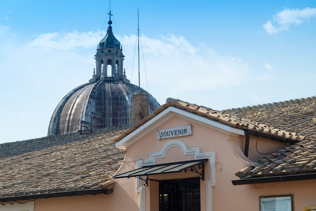 Dôme de saint-pierre au vatican, rome