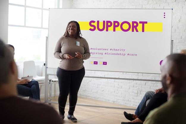 Don service communautaire bénévolat soutien