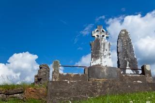 Donegal cimetière blanc