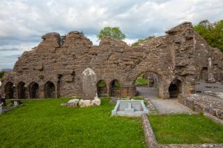 Donegal cimetière hdr cyan