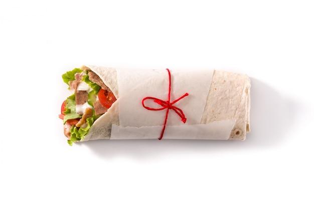 Doner kebab ou sandwich au shawarma