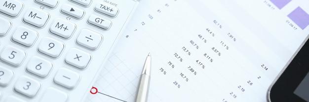 Données statistiques de comptabilité