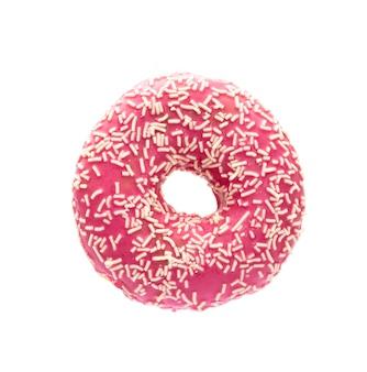 Donut isolé sur un blanc