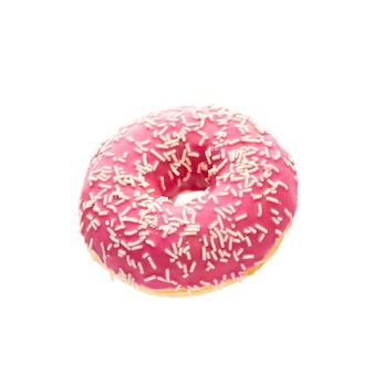 Donut isolé sur fond blanc