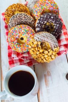 Donuts et café