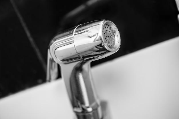 Douche de bidet, jet de bidet, pulvérisateur de bidet ou robinet de santé.