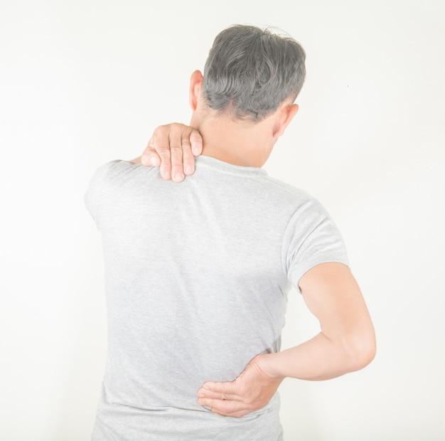 Douleur au dos chez les hommes