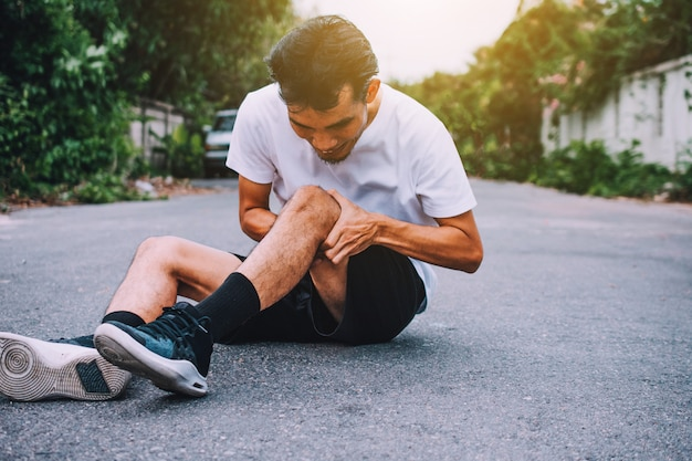 Douleur au genou en courant ou en faisant du jogging