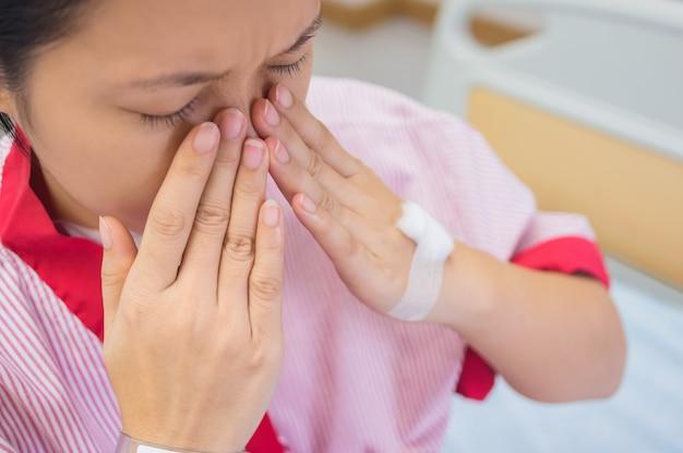 Douleur au nez