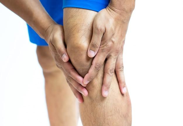 Douleur, gonflement du sport