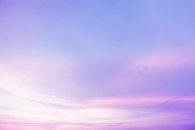 Doux nuageux est un fond pastel dégradé