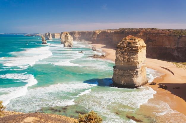 Les douze apôtres à victoria en australie