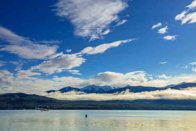 Drague à te anau lake southland nouvelle-zélande