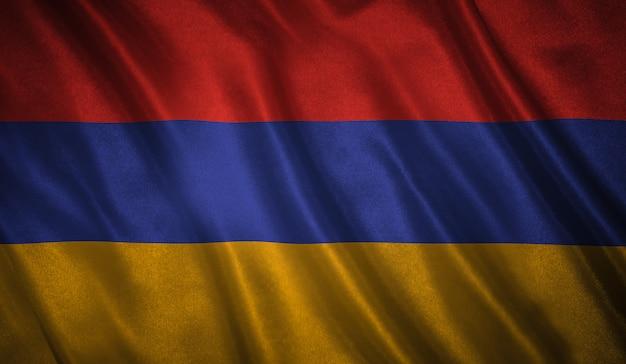 Drapeau de l'arménie fond