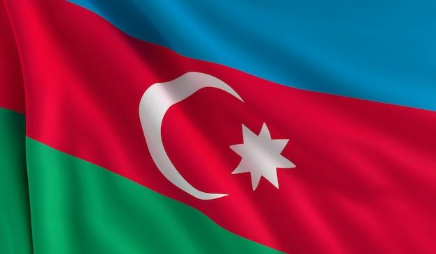 Drapeau de l'azerbaïdjan