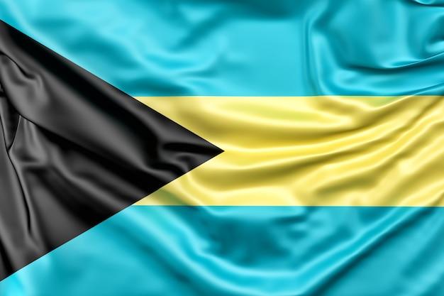 Drapeau des bahamas