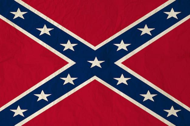 Drapeau de bataille des états confédérés d'amérique