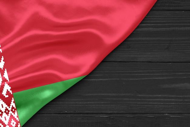 Drapeau de la biélorussie copie espace